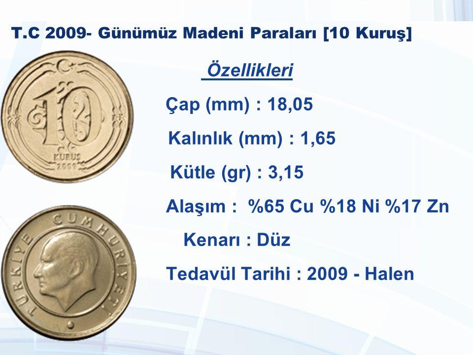 T.C 2009- Günümüz Madeni Paraları [10 Kuruş]